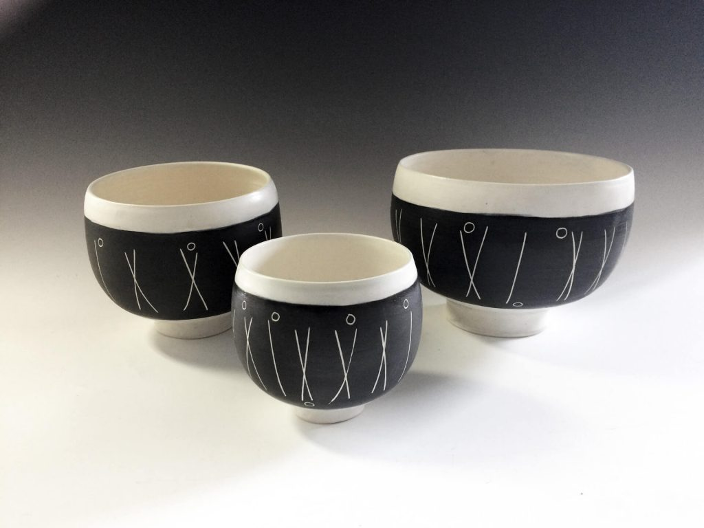 Millennium Clay Works by Bob Bachler, handmade ceramics, hand thrown ceramics, handmade pottery, potter wheel