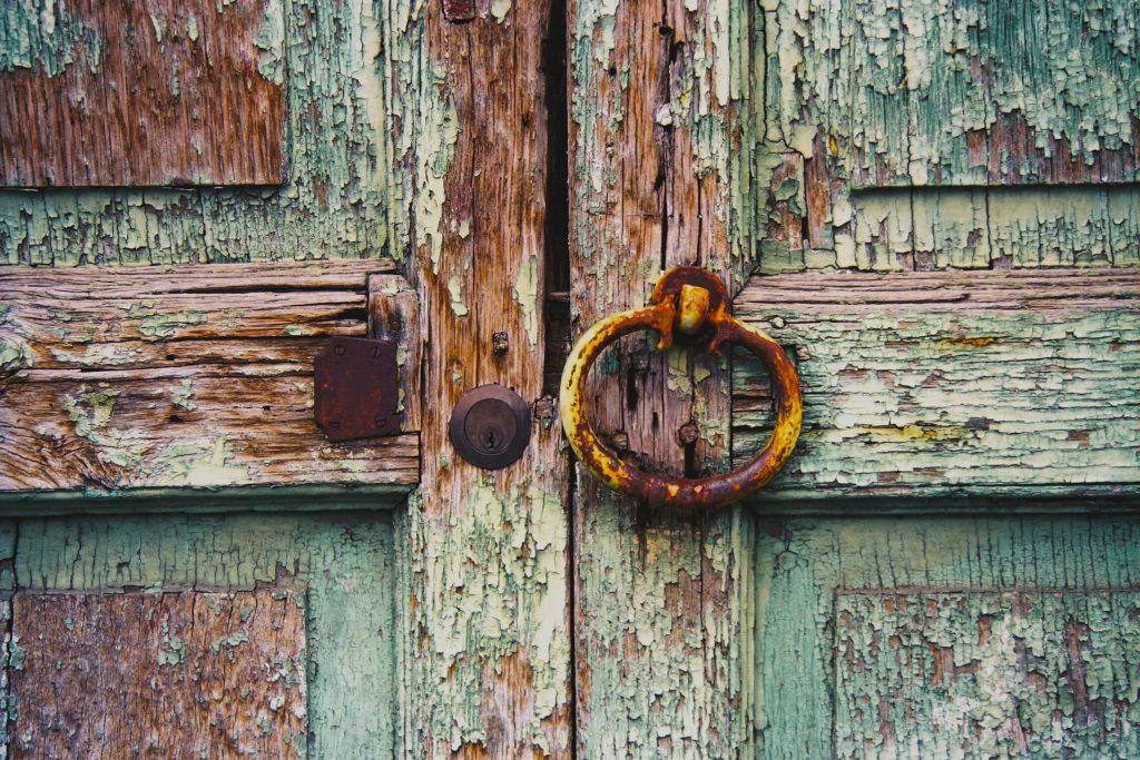 Claude Taylor, Claude Taylor Photography. green old doors, old wood, door handle,