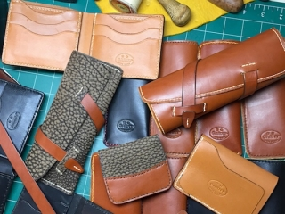 Gabor Ruzsan, GARNY & Co. handmade leather wallets and pouches