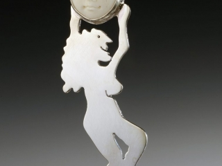 Karhu Moon by Heidi Spadter, handcrafted jewelry, moon jewelry, dreamers