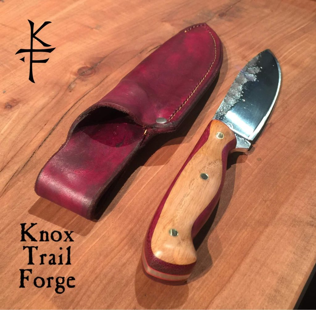 Knox Trail Forge by Del Martin: Hunting Knife, handcrafted hunting knife