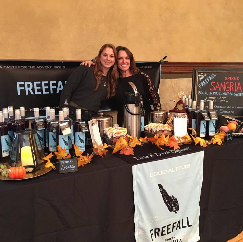 Freefall Sangria by Liquid Altitude, Hudson valley winery, Hudson valley sangria, Hudson valley wine