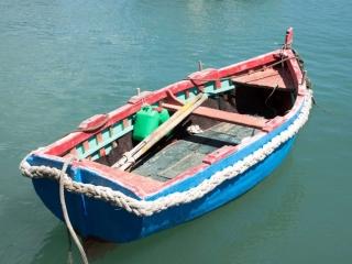 Mark Miller, Mark Miller Photography, fine art photography, boat, ocean, Mediterranean Sea