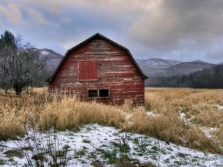 Michael Sandy, Michael Sandy Photography: Adirondack Barn, country photography, old red barn, Catskills, Adirondack mountains, upstate ny, snow, winter