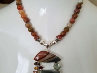 3G Co by Milton Garland, handcrafted jewelry, handcrafted pendant, handcrafted necklace, bead show, ny, upstate new york