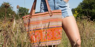 Natalie Rae New York by Natalie Dikerson: Vietnamese Textiles-Turned Stunning Fiber Art