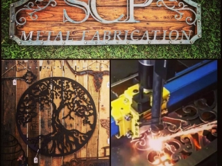 SCP Metal Fabrication by Steven Pasqua, handcrafted metal signage