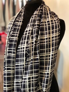 """Sister Weekend by Helene Markovits: Bohemian Infinity Scarf (""""Cool Clothes for Hot Women""""), menopause clothing"""