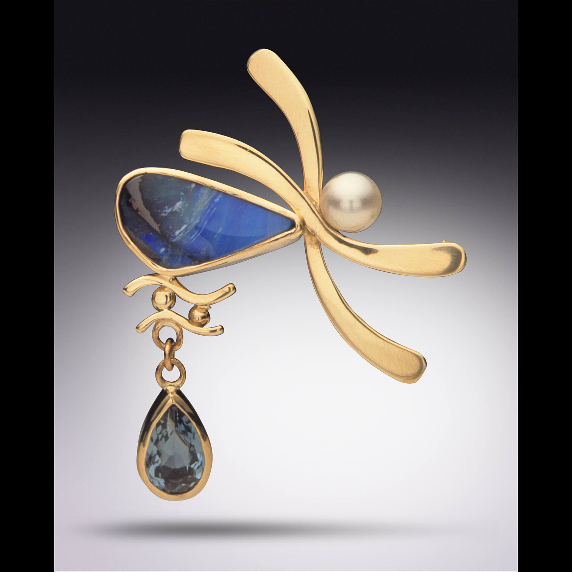 Sue Stone Jewelry, handcrafted pendant, handcrafted jewelry, semi-precious stones, gold, pearls