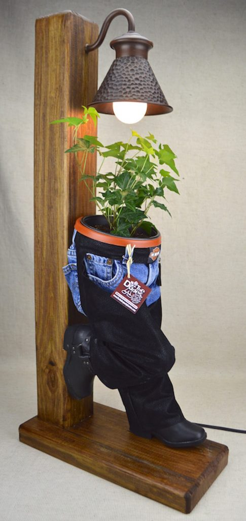 """The Dudes"" Pant-Planters by Gabriela Diaz Capt: Biker Post"