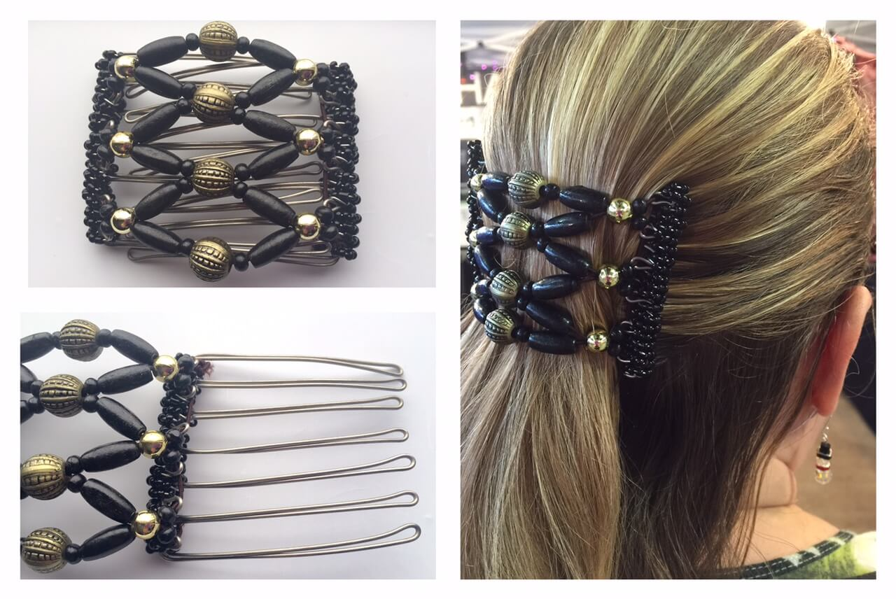The Hair Jeweler by Erin Unz, handcrafted hair accessories