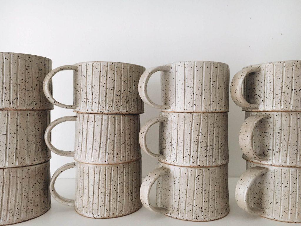 Tellefsen Atelier by Alexis Tellefsen, handmade ceramics, hand thrown ceramics, handmade pottery, potter wheel