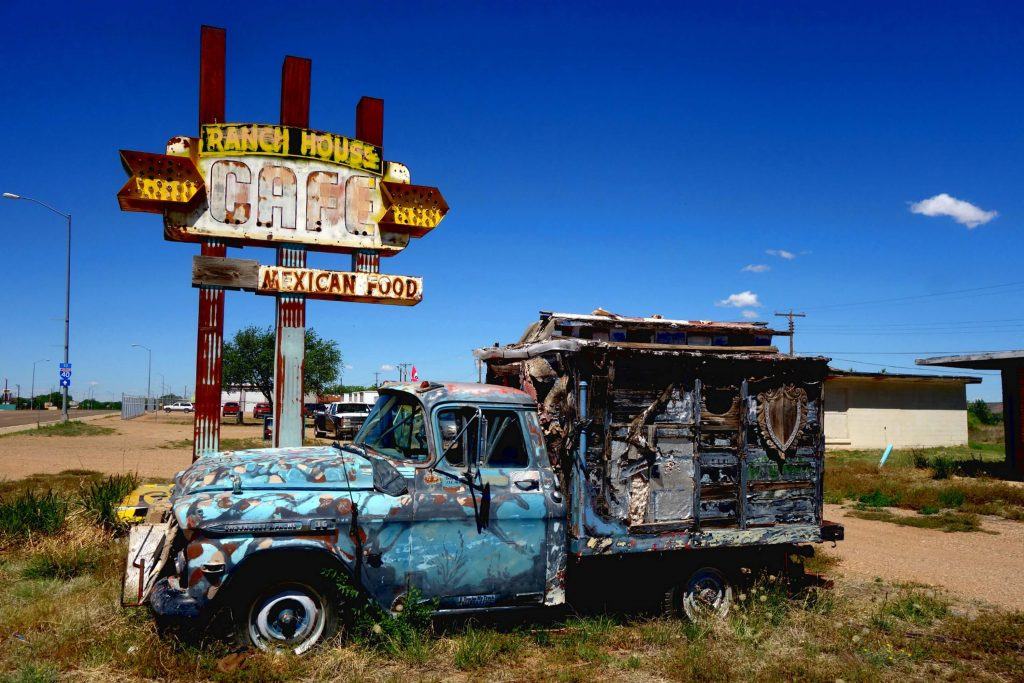Vondeck Images by Amanda Decker: Ranch House Cafe, Vintage Photography, Old Truck, Old Rest Stop, Old Restaurant