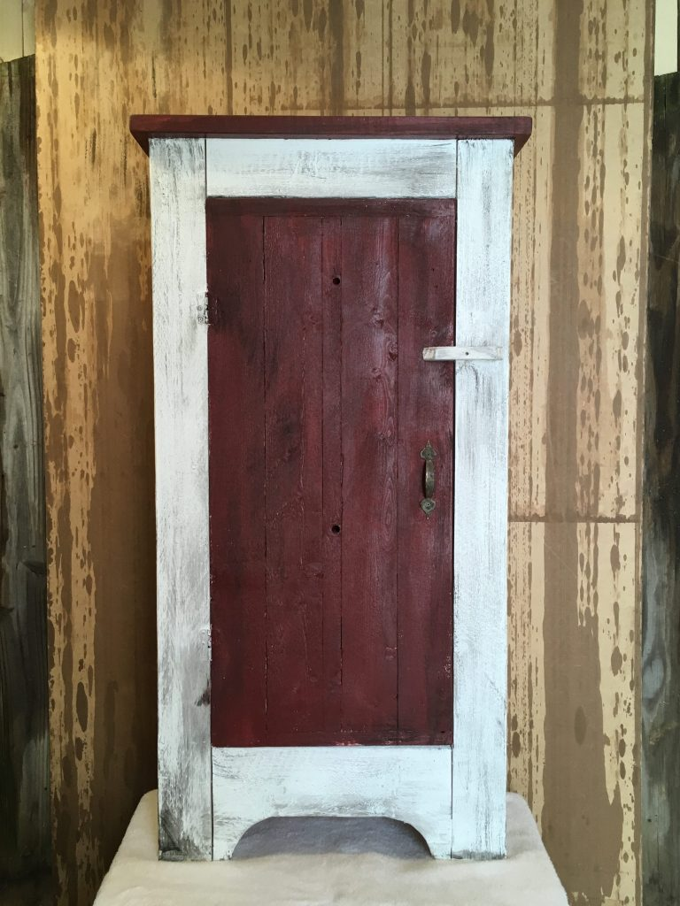 Westtown Cupboard Works by Robert McGrogan. Handmade wood art out of reclaimed lumber and wood
