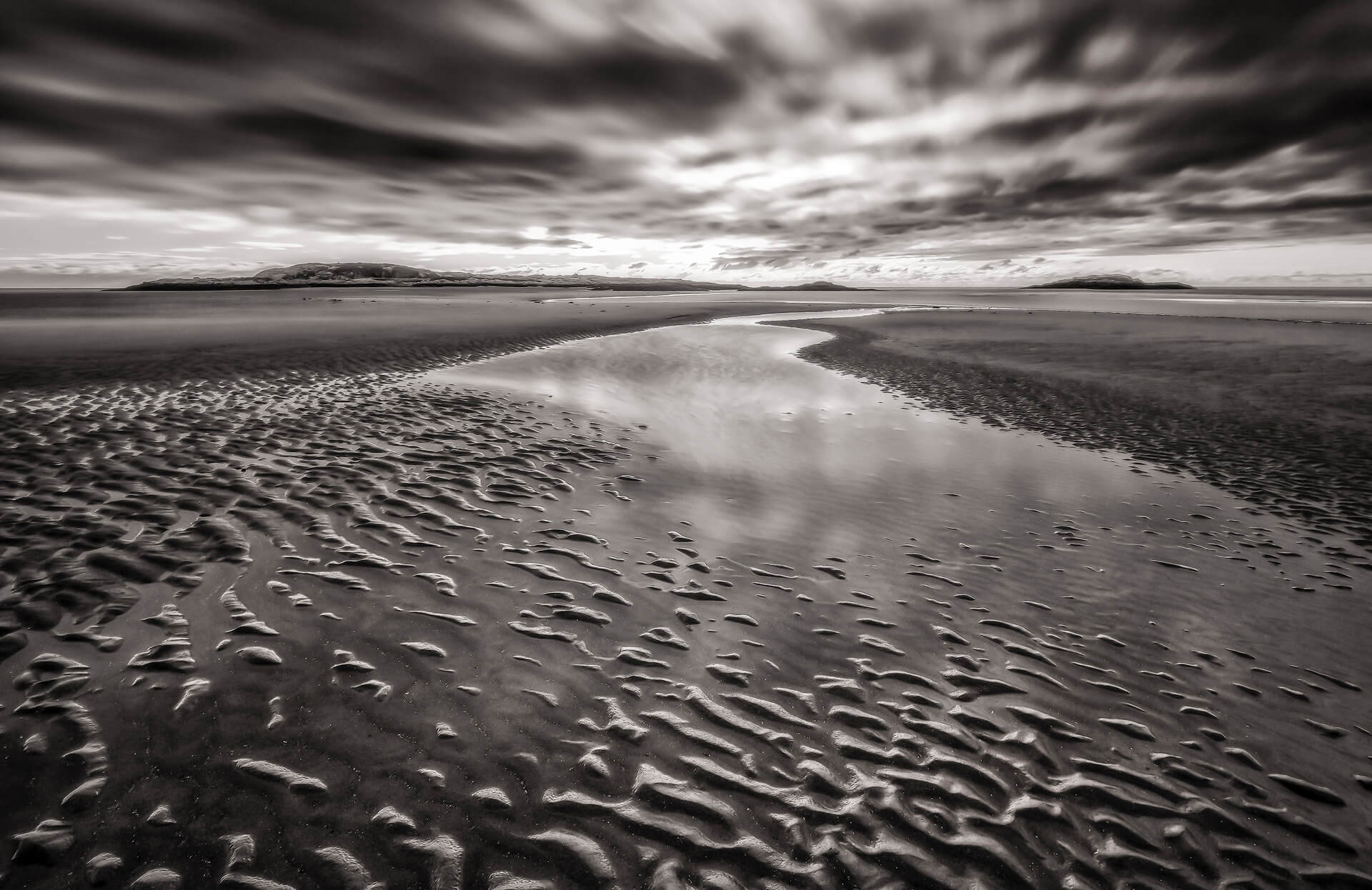 Scott Snyder Photography: Pemaquid Journey, long exposure, landscape photography, beach photography, black and white