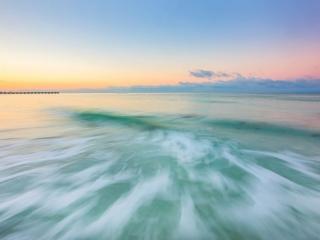 Scott Snyder Photography: Sebastian's Day, long exposure, landscape photography, beach photography, black and white