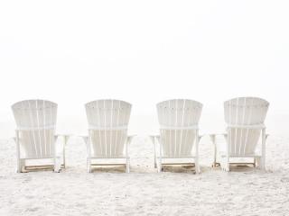 Photographs by Barry Hollritt: Beach, beach photography, beach chairs, sand, fine art photography, landscape photography, upstate New York, Hudson River, Hudson River photography, Hudson valley