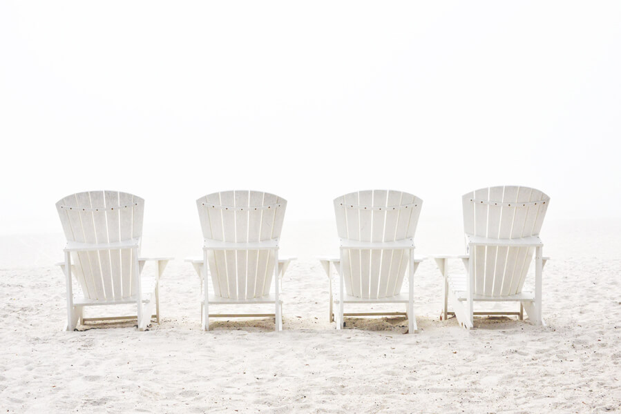 Photographs by Barry Hollritt: Beach, beach photography, beach chairs, sand, fine art photography, landscape photography, upstate New York, Hudson River, Hudson River photography, Hudson valley