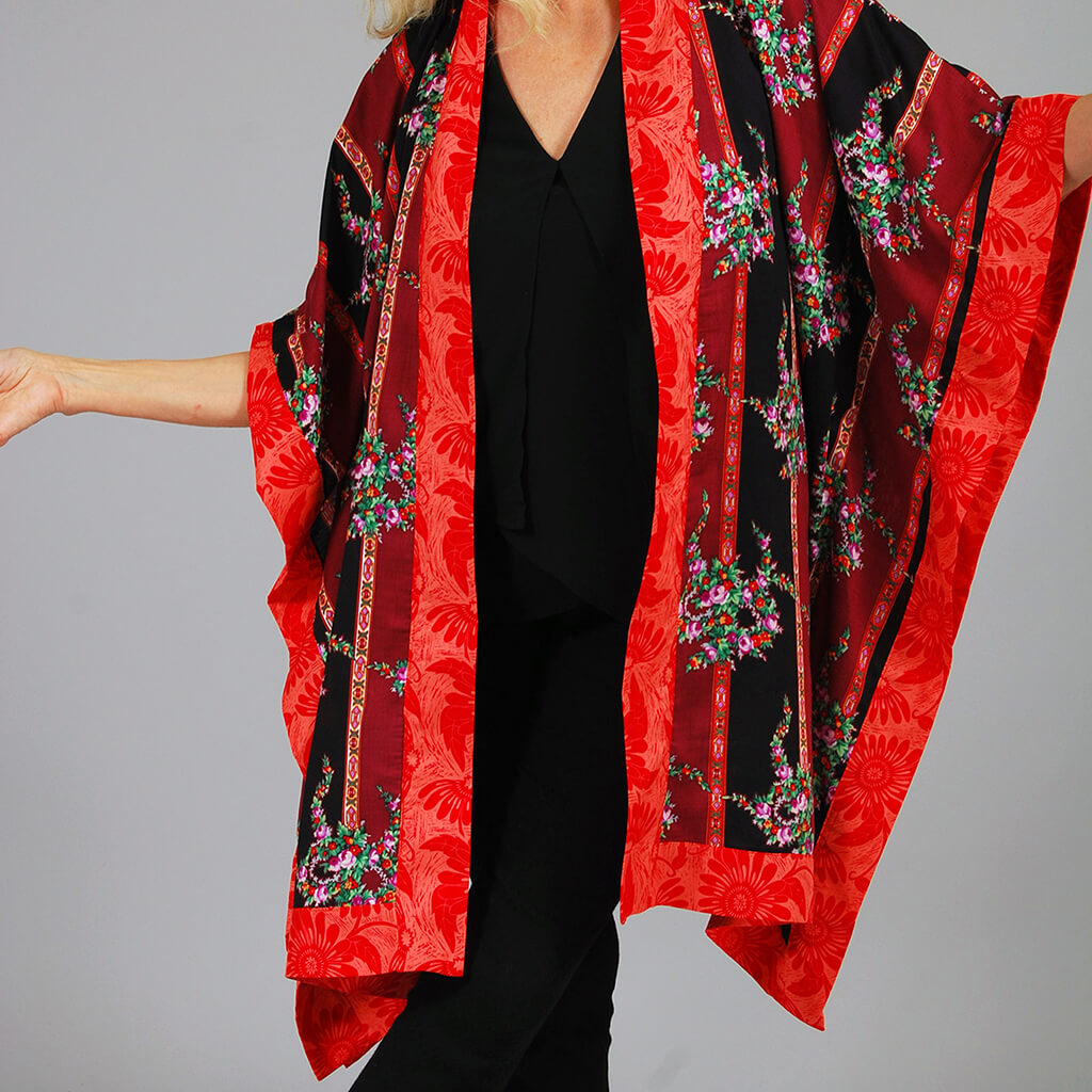 Uncommon Artwear by Robin Lennon, kimono, handmade, fiber art, handmade clothing, boutique