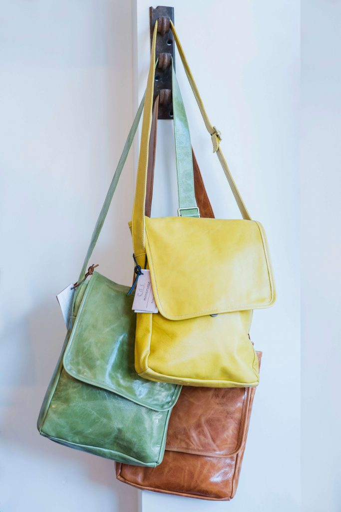 C.A.S. Handmade by Jason DesJardins, leather bags, handmade leather, leather accessories,