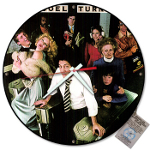 The Tunes Company by Bob Ross: Custom Vintage Record Clock, Billy Joel, records, vintage, handmade
