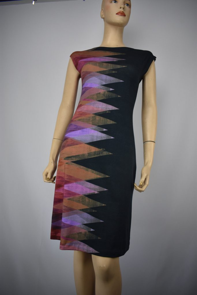 Sharon London, Cotton Jersey Dress, fiber art