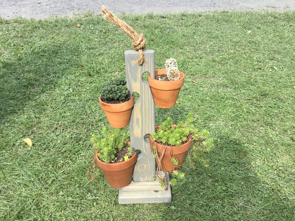 Clariza's Clay Pot Swings by David Muratore