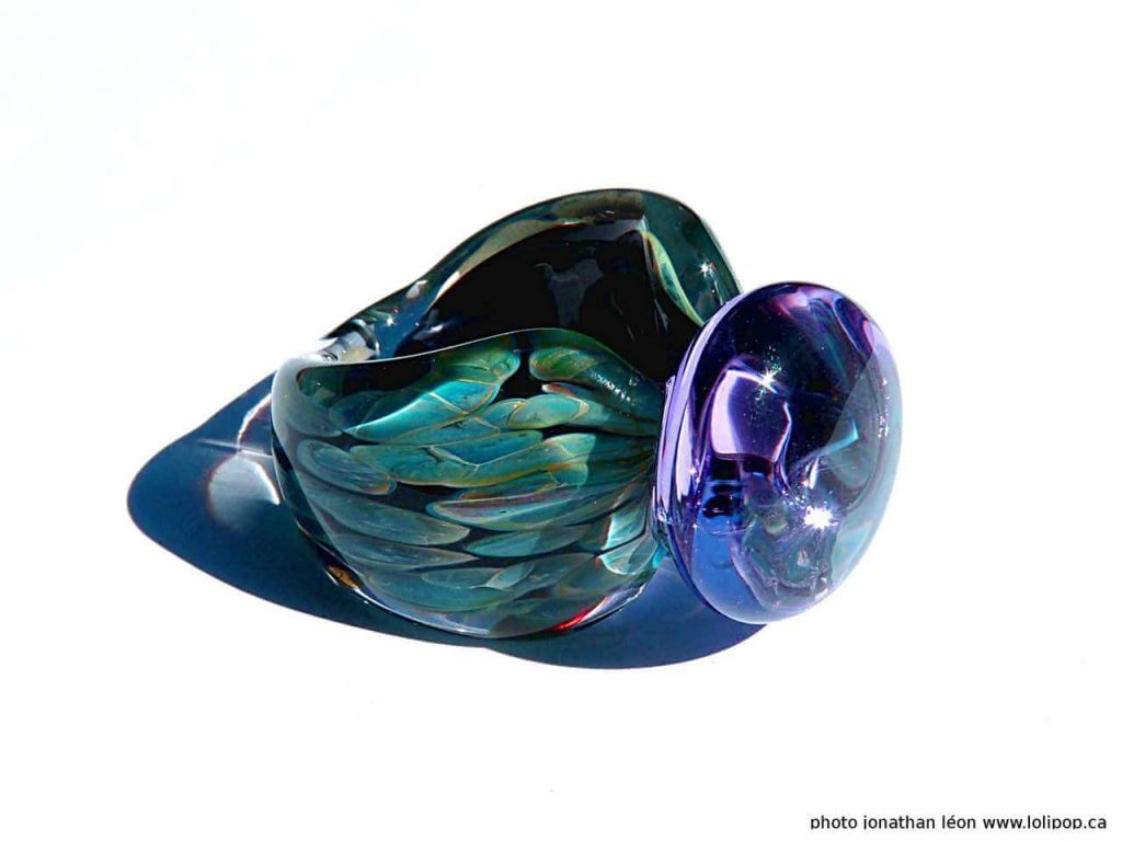 Lolipop Glass by Jonathan Leon