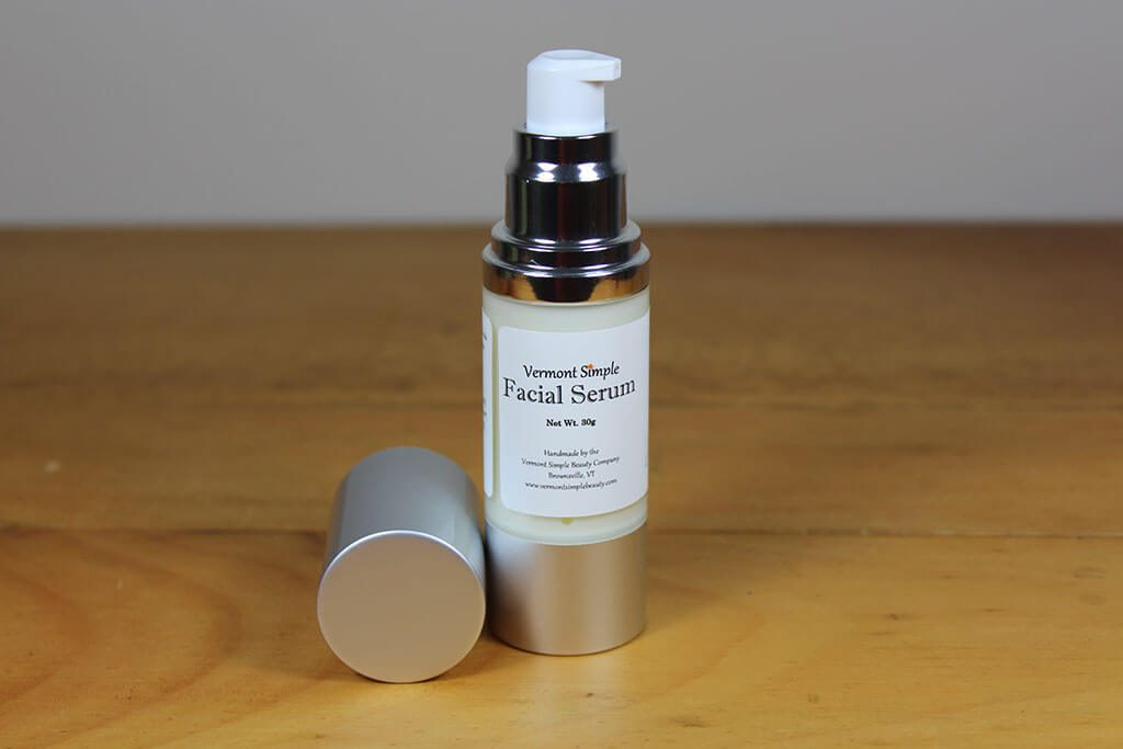 Vermont Simple Beauty: Sheri Abild, facial serum, natural