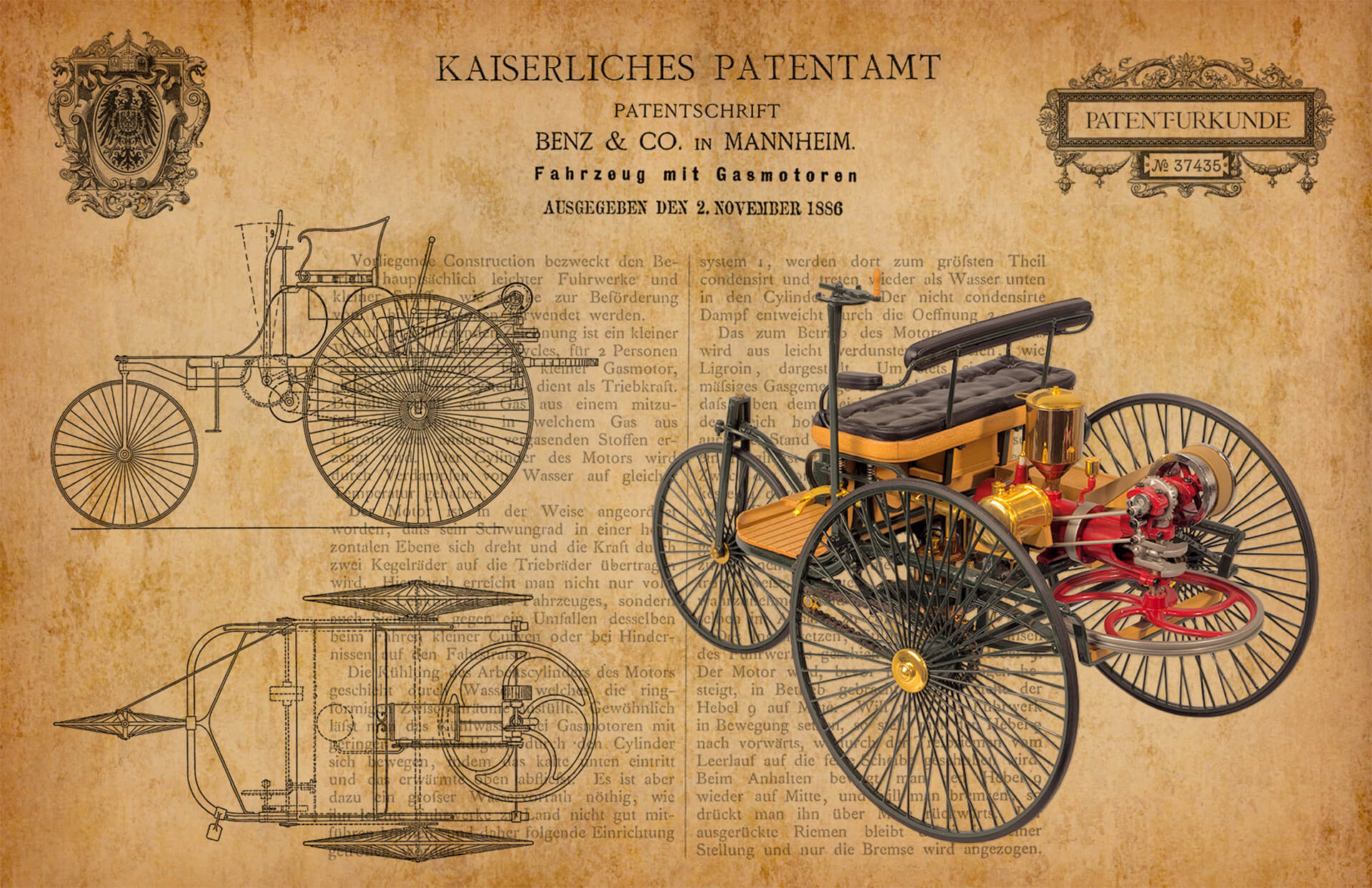Patent Artwork by John & Shantie Pattenden