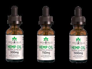 High Falls Extracts: Hemp Oil CBF
