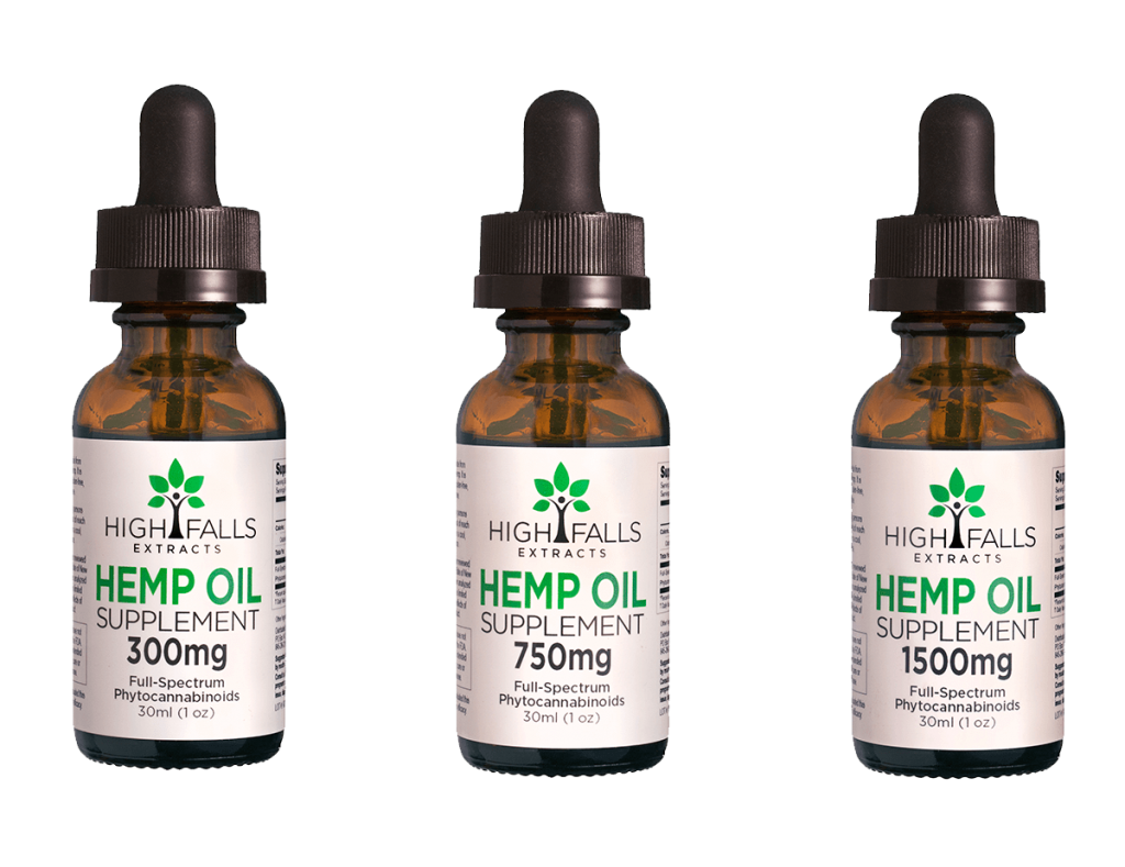 High Falls Extracts: Hemp Oil CBF