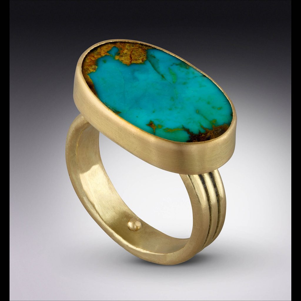 Lori Kaplan Jewelry: Persian Turquoise Ring